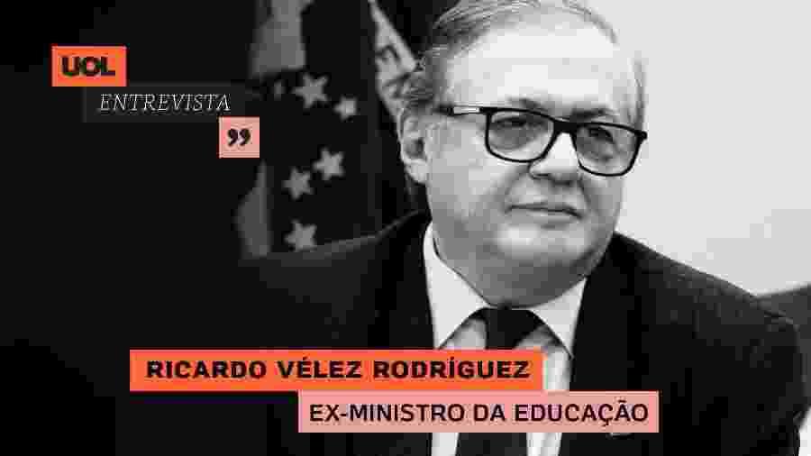 UOL Entrevista com Ricardo Vélez Rodríguez (25/06/20) - Arte/UOL