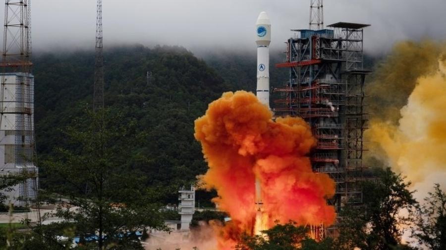 Lançamento do foguete Longa Marcha 3B, da China - Reuters
