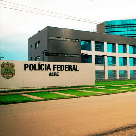 Sede da Superintendência da Polícia Federal em Rio Branco, no Acre - Divulgação/Polícia Federal/redes sociais