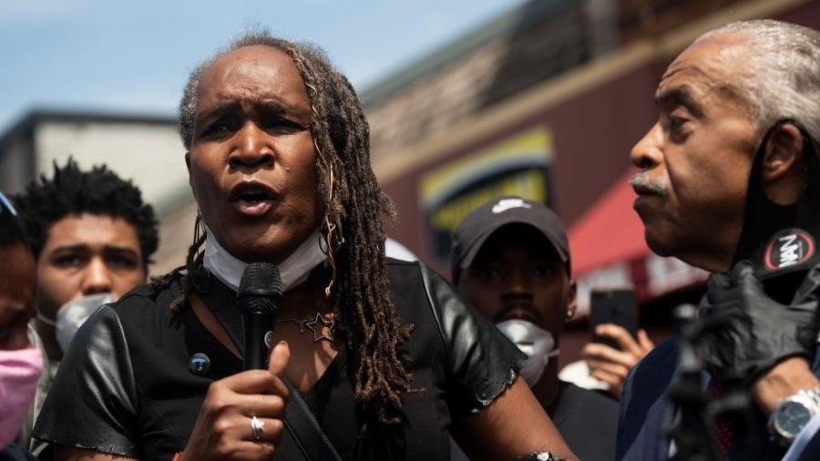 Andrea Jenkins é a vice-presidente do Câmara Municipal de Minneapolis - Stephen Maturen/Getty Images