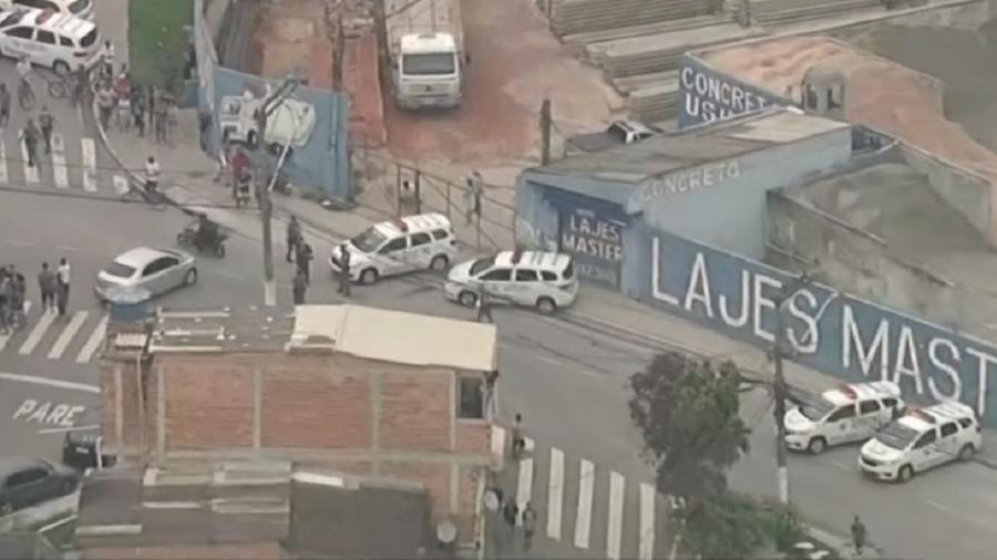Criança morre após atropelamento durante perseguição policial - Reprodução/GloboNews