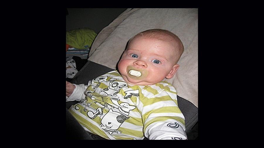 Este bebê foi confundido com um mamilo em conclusão de estudo do MIT  - Reprodução/ImageNet