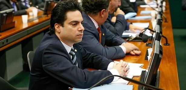 Vinícius Gurgel (PR-AP) em reunião do Conselho de Ética sobre cassação de Cunha