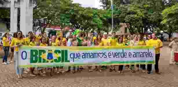 bbc crianças crise política - Adriano de Oliveira/Via WhatsApp - Adriano de Oliveira/Via WhatsApp