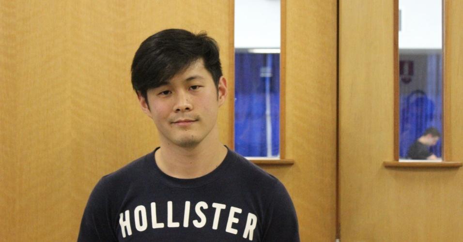 Aurélio Ryu, estudante do Etapa