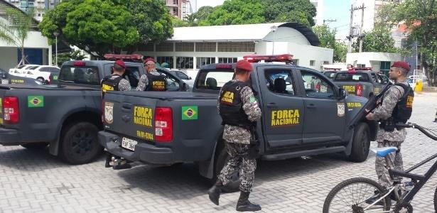 Atuação da Força Nacional começou por volta das 15h