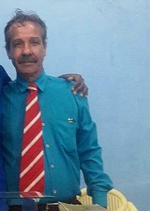 O pastor Custódio Gonçalves, que foi morto a tiros durante a realização de um culto em uma igreja evangélica em Itabora