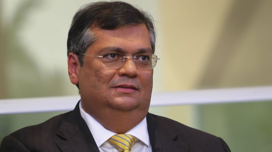 O governador do Maranhão, Flávio Dino (PCdoB), durante entrevista - Gilson Teixeira/Divulgação