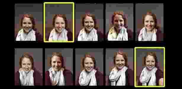 Cientistas da computação da Universidade de Waterloo, no Canadá, desenvolvem software para orientar usuário para melhores selfies - Reprodução
