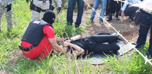 Polícia reconstitui assassinato de Kelly Cristina Cadamuro