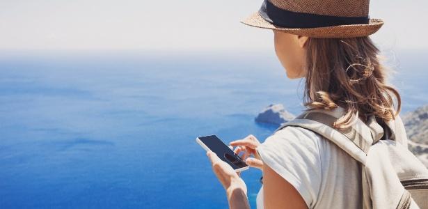 Celular pode ser um grande ajudante em uma viagem