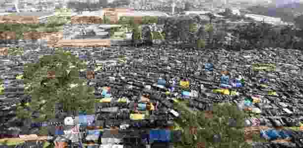 13.set.2017 - Grande ocupação do MTST (Movimento dos Trabalhadores Sem Teto) em terreno da cidade de São Bernardo do Campo (SP) - Rivaldo Gomes/Folhapress