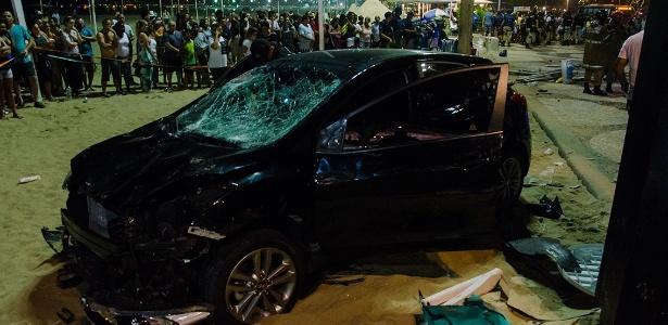 Motorista que atropelou 18 pessoas em Copacabana alegou ter passado por uma crise de epilepsia