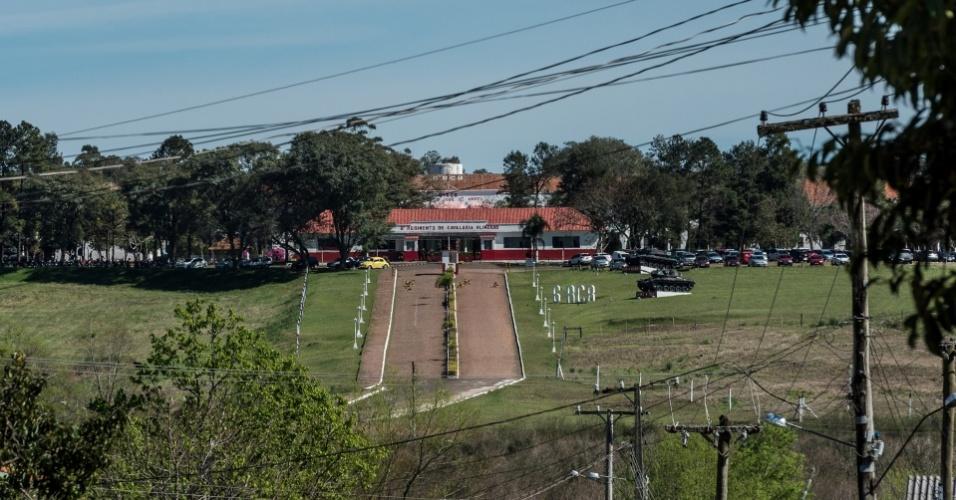 O 6º Regimento de Cavalaria, em Alegrete (RS), era o local para onde os presos políticos da cidade e arredores eram levados para averiguação, interrogatório e prisão