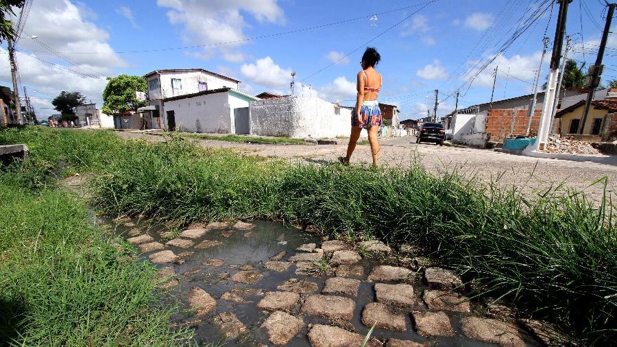 Especial Bayeux (PB): cidade sofre com a falta de saneamento básico - Francisco França/UOL