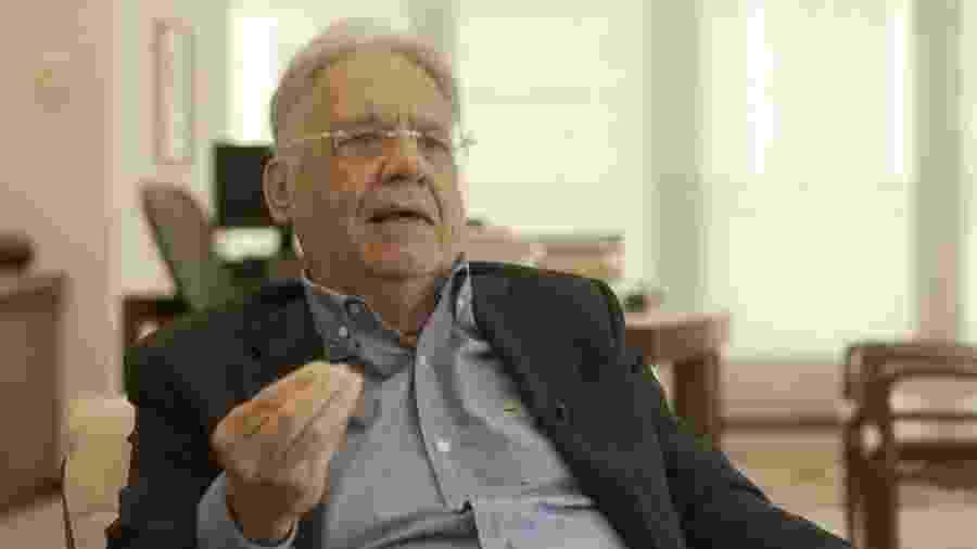O ex-presidente Fernando Henrique Cardoso  - Felix Lima/BBC News Brasil