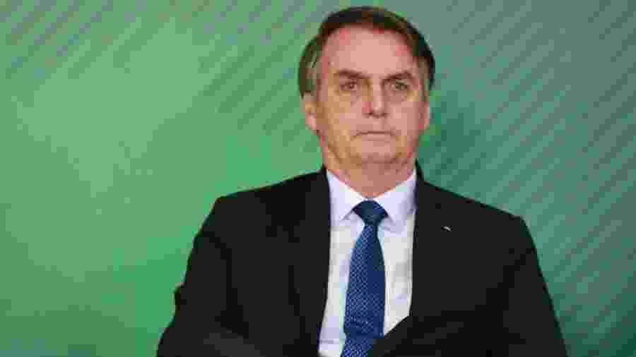 Jair Bolsonaro (PSL) costuma até divulgar decisões diretamente a seguidores - 08.abr.2019 - Fátima Meira/Futura Press/Estadão Conteúdo