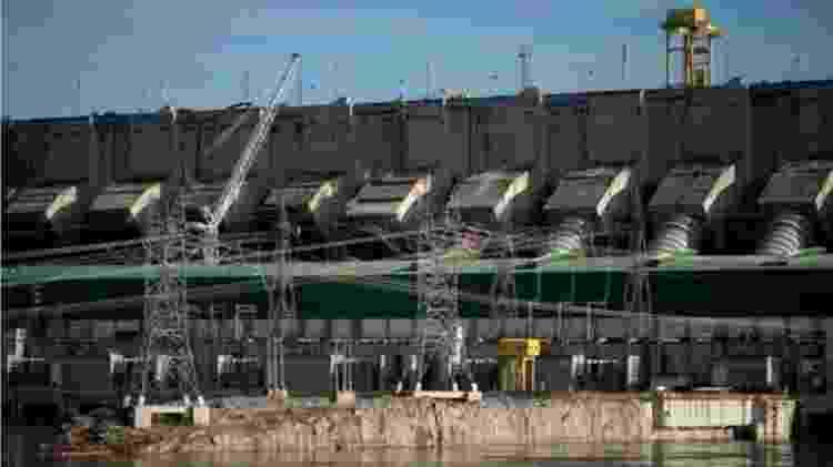 A construção de uma hidrelétrica como Belo Monte afeta todo o bioma, dizem pesquisadores - AFP/BBC
