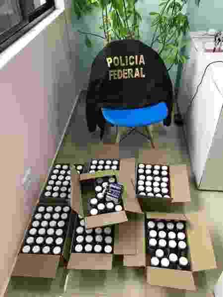 Polícia Federal apreende remédios irregulares na Operação Placebo - Divulgação/Polícia Federal