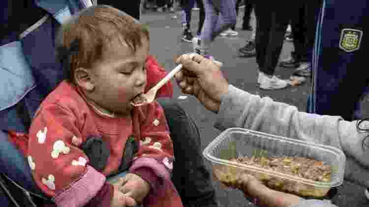 Argentina tem visto mais subnutrição e mais crianças em situação de pobreza - Getty Images - Getty Images