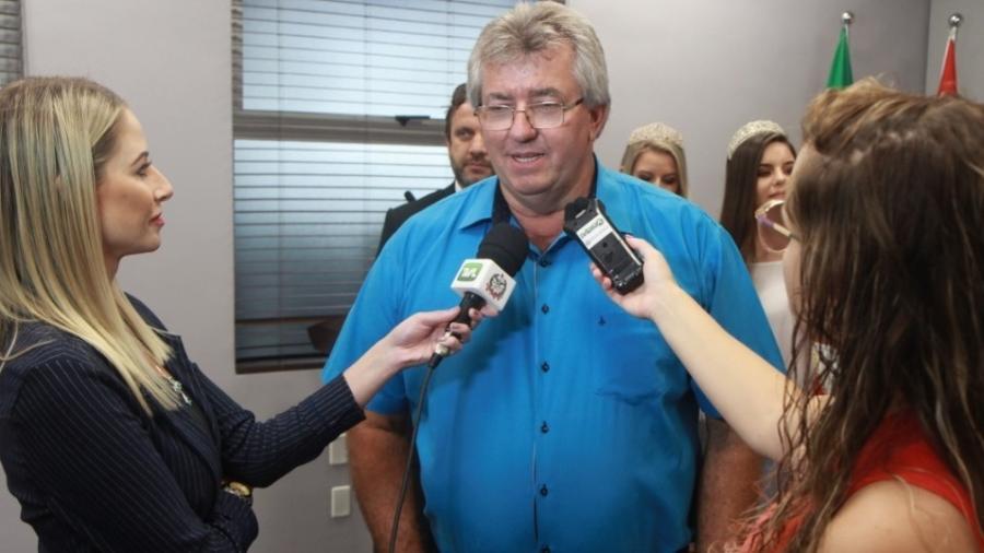 Prefeito de Imbuia é morto a tiros ao sair de sede do Executivo - Divulgação/Prefeitura de Imbuia