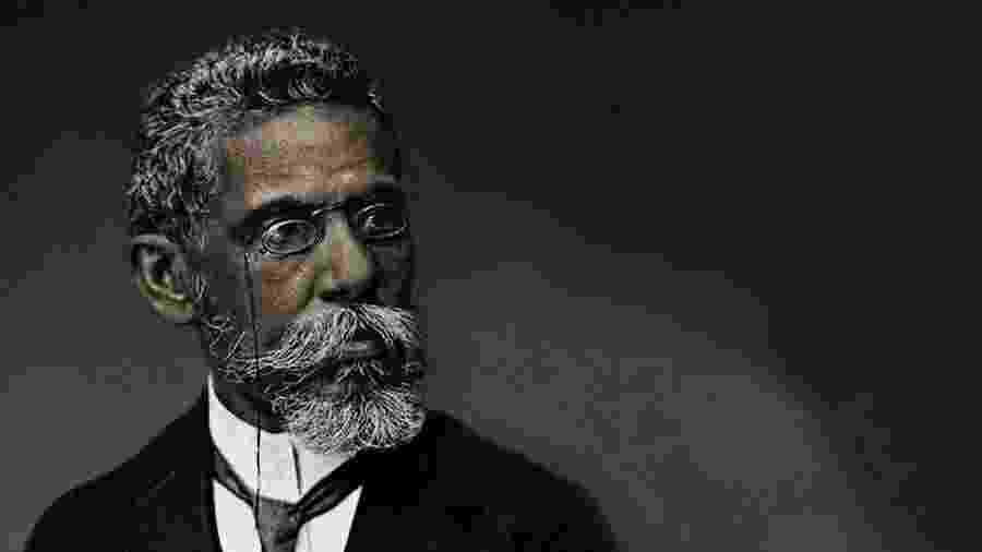 O escritor carioca Machado de Assis - Reprodução