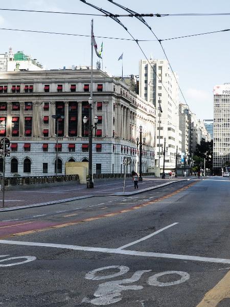 Cidade de São Paulo terá monitoramento por bairro na luta contra a covid-19 - PAULO GUERETA/ESTADÃO CONTEÚDO