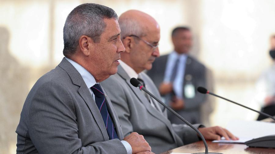 Walter de Souza Braga Netto e Luiz Eduardo Ramos - Marcos Corrêa/Presidência da República