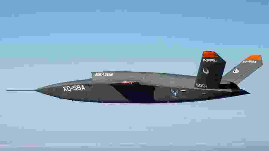 XQ-58A Valkyrie fez seu voo inaugural em março de 2019, no Arizona (EUA) - Joshua Hoskins/ Força Aérea dos EUA