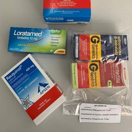 O chamado kit covid reúne medicamentos sem eficácia comprovada contra a doença - Reprodução