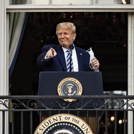 Além de interesses comerciais, o governo de Donald Trump tenta gerar boas notícias nas relações exteriores, às vésperas das eleições americanas - Samuel Corum/Getty Images/AFP