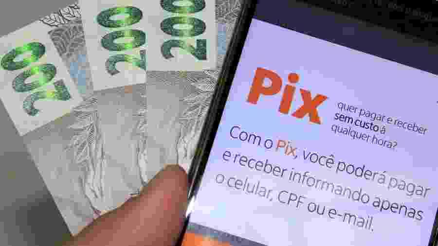 Pix é o pagamento instantâneo brasileiro criado pelo Banco Central (BC) em que os recursos são transferidos entre contas em poucos segundos, a qualquer hora ou dia - WILLIAN MOREIRA/ESTADÃO CONTEÚDO