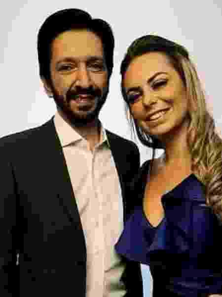 Ricardo Nunes e a mulher, Regina Carnovale - Reprodução/Facebook - Reprodução/Facebook