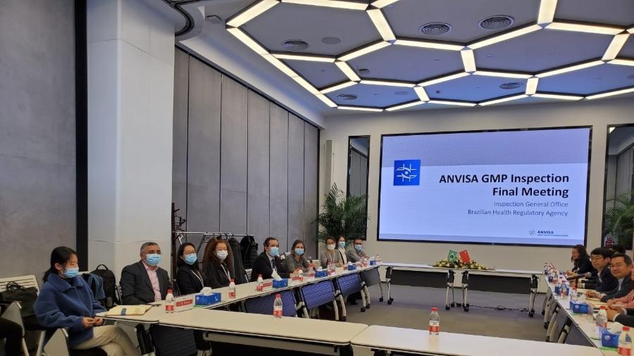 Anvisa encerra processo de inspeção na Sinovac - Reprodução/Anvisa