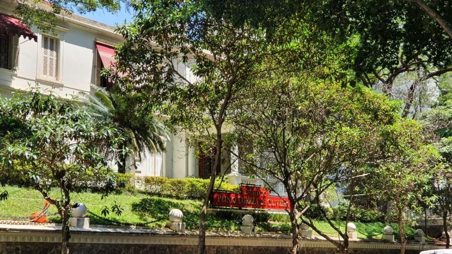 Antiga sede da TFP na cidade São Paulo onde hoje funciona do Instituto Plinio de Oliveira - Juliana Dal Piva/UOL