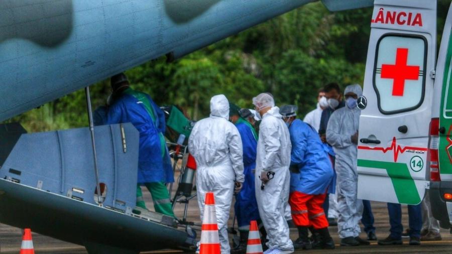 Nove pacientes de Rondônia com covid-19 são transferidos para hospital do Rio Grande do Sul - Esio Mendes/Governo de Rondônia