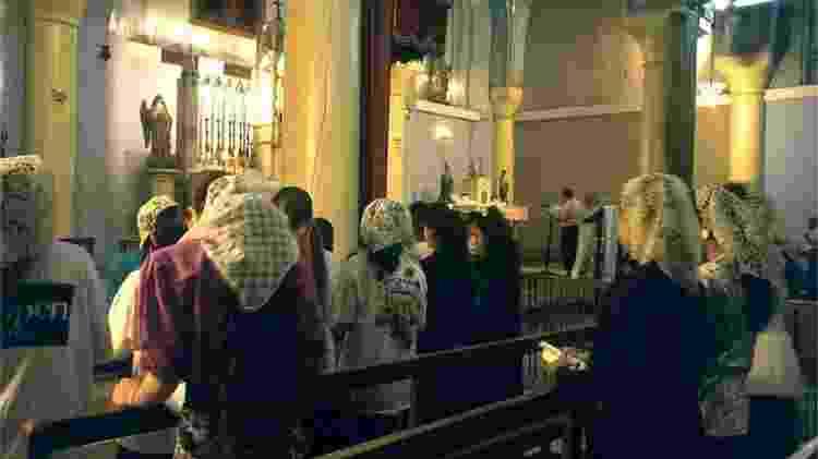 Existem cerca de 250 mil cristãos no Iraque - AFP - AFP