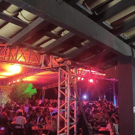 Festa em Minas contava com a presença de cerca de 600 pessoas - Divulgação