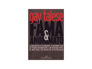 Fama e anonimato - Gay Talese - Amazon - Amazon