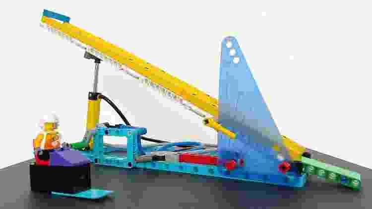 Lego Education: pista de esqui - Bruna Souza Cruz/Tilt - Bruna Souza Cruz/Tilt