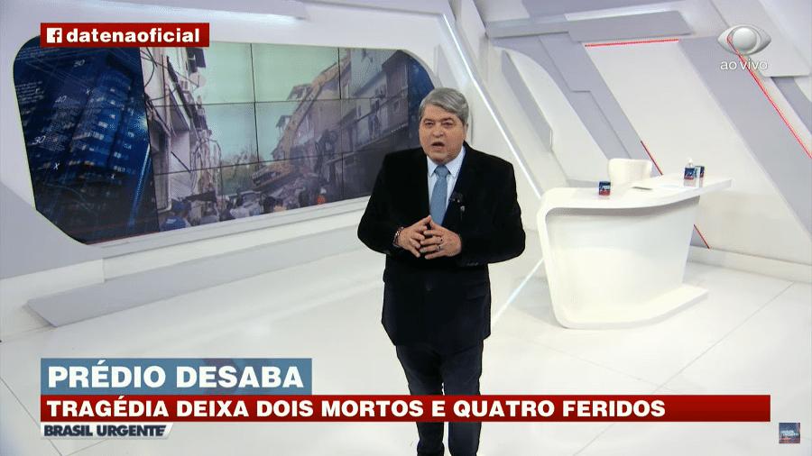 Datena critica governador e prefeito do Rio de Janeiro - Reprodução/YouTube/Brasil Urgente