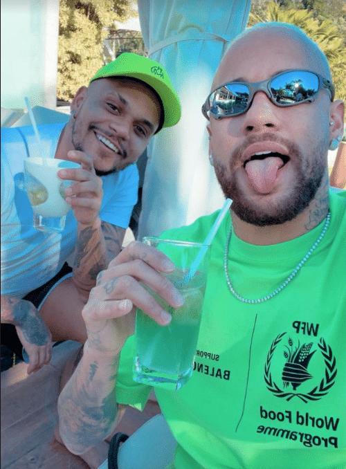 Neymar e Cris Guedes em Mangaratiba