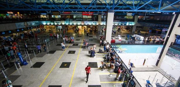 Aeroporto de Curitiba foi eleito o melhor terminal do país e o mais cordial