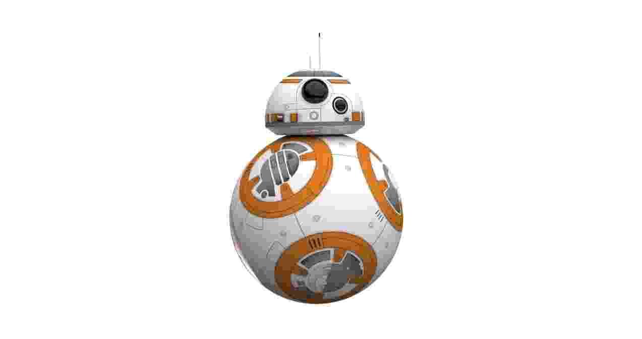 Robô Sphero BB-8 Star Wars, Mobimax. Vendido no site da Saraiva por R$ 2.699,00 em até 12 vezes, ou 2.564,05 à vista - Divulgação