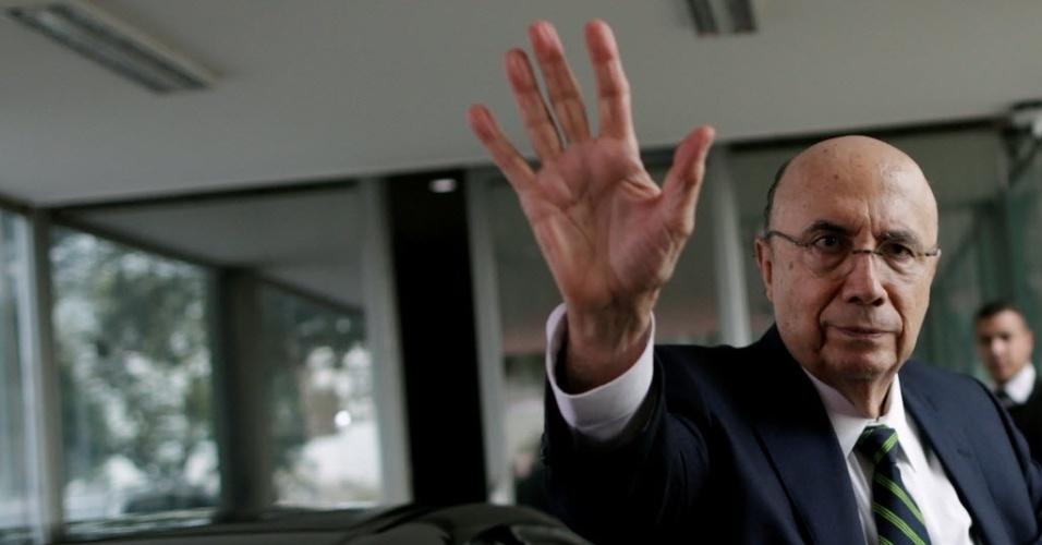 17.mai.2016 - O ministro da Fazenda, Henrique Meirelles, anunciou nesta terça-feira (17) os novos membros da equipe econômica do governo interino de Michel Temer (PMDB)