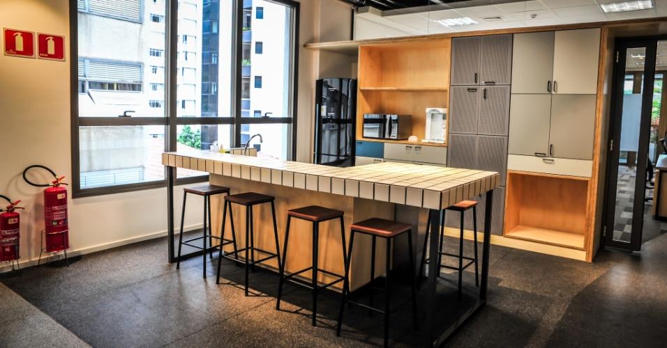 Cozinha do Campus São Paulo, do Google
