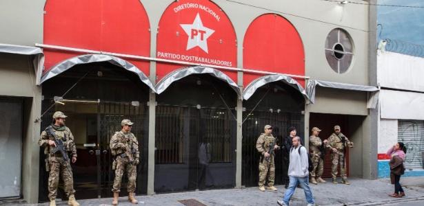 Diretório Nacional do PT, em SP, também foi alvo da operação