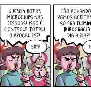 "28.jan.2017 - ""Microchip"" - Raphael Salimena/UOL"