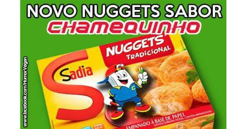 Memes da carne: nuggets de Chamequinho