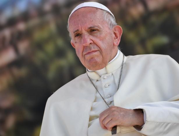 Essa é a primeira declaração do papa sobre a histórica aproximação entre China e Vaticano, assinada em 22 de setembro  - Andreas Solaro/AFP